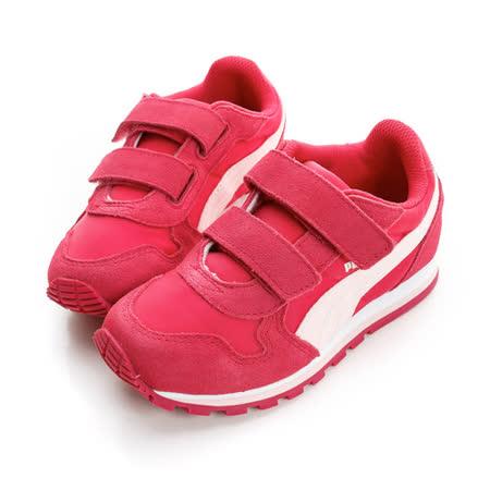 PUMA (童) 慢跑鞋 紅35877310