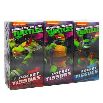 Ninja turtle 紙手帕 6包 6包(10張/包)