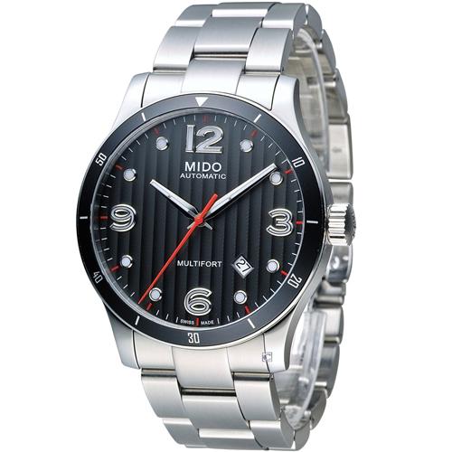 美度 MIDO Multifort 先鋒系列80小時機械錶 M0254071106100