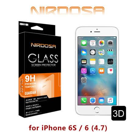 NIRDOSA 3D滿版 iPhone 6S / 6 (4.7) 9H 0.33mm 鋼化玻璃 螢幕保護貼