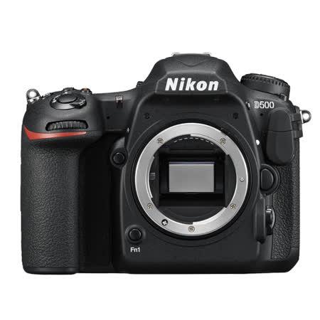Nikon D500 Body 單機身 (公司貨)-加送 64GB 記憶卡+原廠電池(含標配共兩顆)+強力吹球+清潔拭鏡布+清潔拭鏡筆+專用快門線