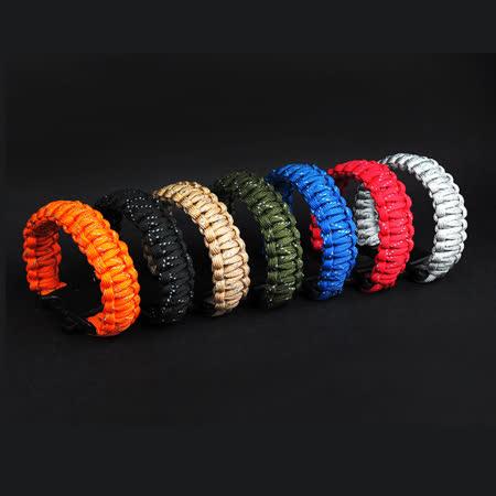 PUSH! 地震防災產品 時尚的九芯反光繩求生哨J23