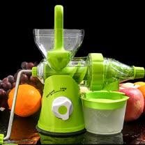 PUSH!廚房用品渣汁分離營養保留良好的螺旋擠壓式手動榨汁機D14新款