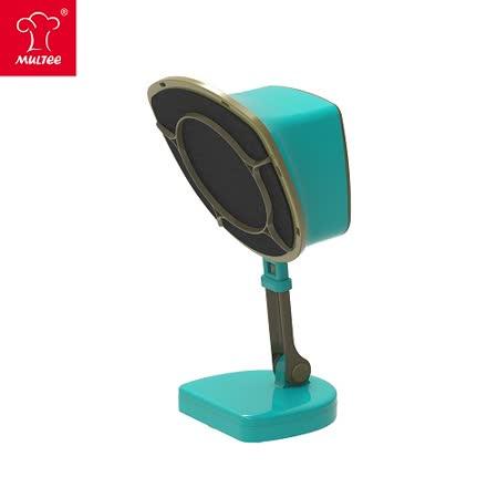 【MULTEE摩堤_節能家電系列】《第二代桌上濾油煙機》移動雙濾網濾(抽)油煙機(土耳其藍)
