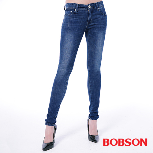 BOBSON 大彈力緊身牛仔褲^(JEGGING 8124~53^)