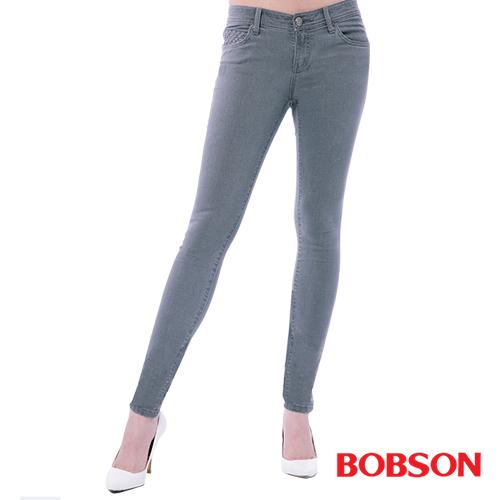 BOBSON 女款超低腰強彈力緊身褲 ^(8131~87^)