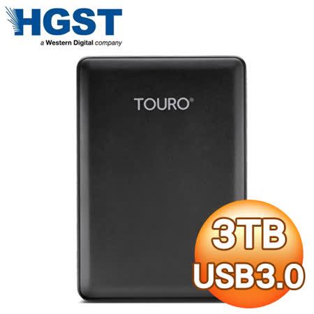 HGST Touro Mobile Reflash 3TB 2.5吋 USB3.0 超薄外接式硬碟