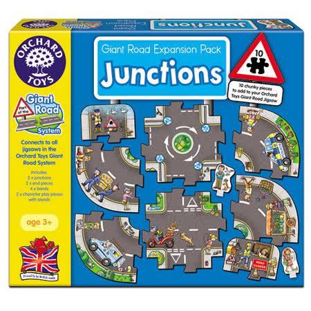 【英國Orchard Toys】遊戲拼圖-圓環道路組