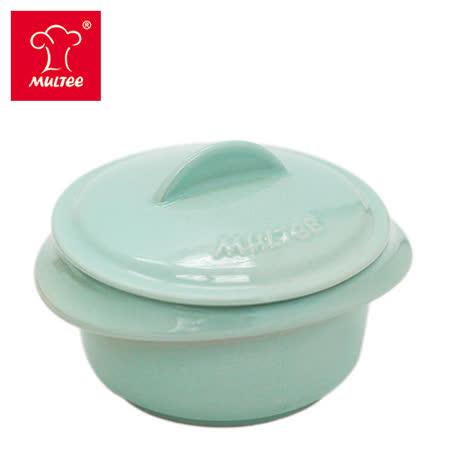 【MULTEE摩堤_鑄鐵鍋系列用品】10cm迷你陶瓷鍋(淺綠松)