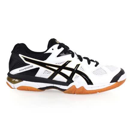 (男) ASICS GEL-TACTIC 排羽球鞋- 排球 羽球 亞瑟士 白黑芥末黃