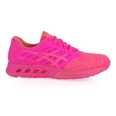 (女) ASICS FUZEX慢跑鞋 - 路跑 健身 亞瑟士 螢光粉