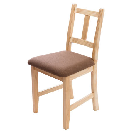 [自然行]- Avigons南法原木椅(扁柏自然色)深咖啡椅墊