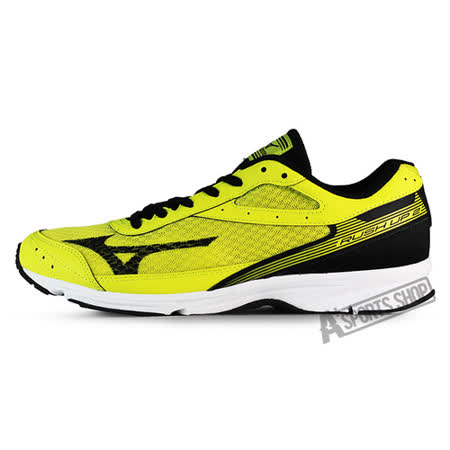 MIZUNO (男) 男路跑鞋 RUSH UP 2 黃-J1GA168309