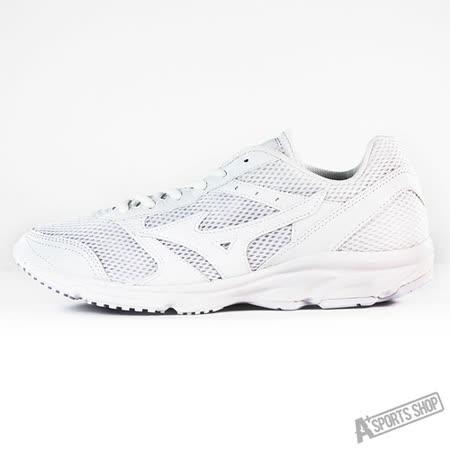 MIZUNO (男) 男慢跑鞋 MAXIMIZER 18 白-K1GA161401