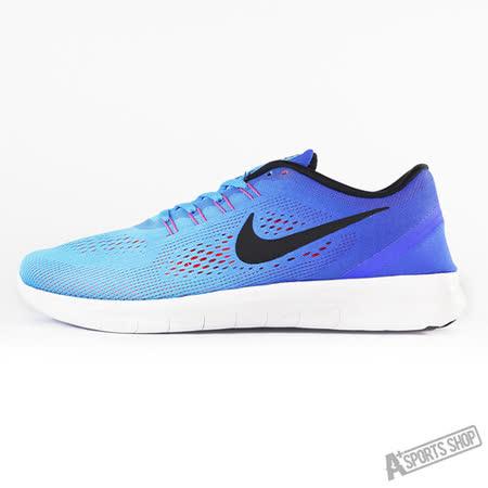 NIKE (男) NIKE FREE RN 慢跑鞋 藍-831508404