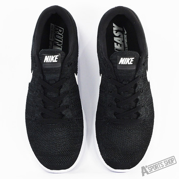 NIKE (男) NIKE LUNAREPIC FLYKNIT LOW 慢跑鞋 黑白-843764002