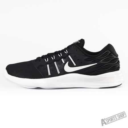 NIKE (男) NIKE FUSIONDISPERSE 慢跑鞋 黑白-844591001