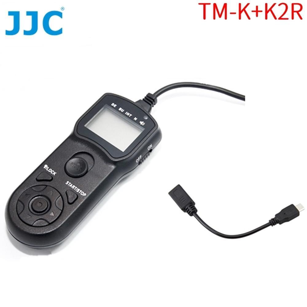 JJC副廠Fujifilm定時快門線遙控器相容RR-90快門線即TM-K+K2R
