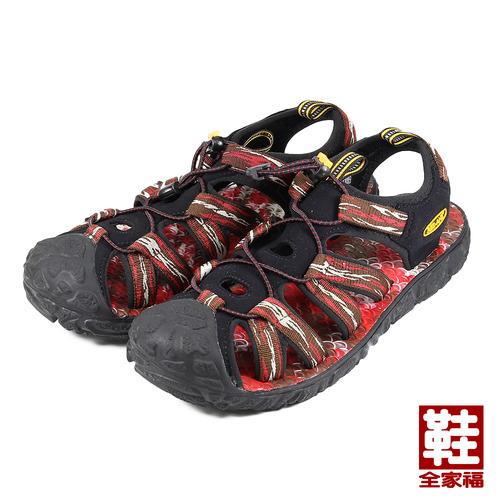 ^(男^) RED ANT 護趾海灘涼鞋 紅 鞋全家福