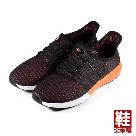 (男) COMBAT 網布運動鞋 黑 鞋全家福