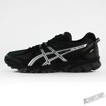ASICS 男 GEL-SONOMA G-TX 慢跑鞋 黑-T5N2N9093