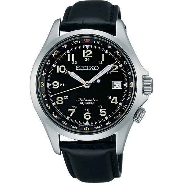 SEIKO 6R15精工23石光輝機械腕錶~黑40mm 6R15~02N0J^(SARG0