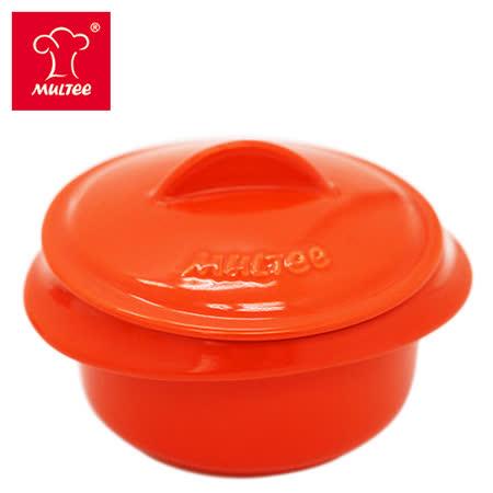 【MULTEE摩堤_鑄鐵鍋系列】10cm迷你陶瓷鍋(橘色)