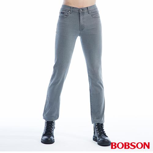 BOBSON 男款低腰超彈力直筒褲^(1811~87^)