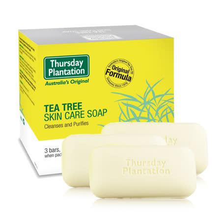 澳洲星期四農莊-茶樹純淨皂(3入/組)