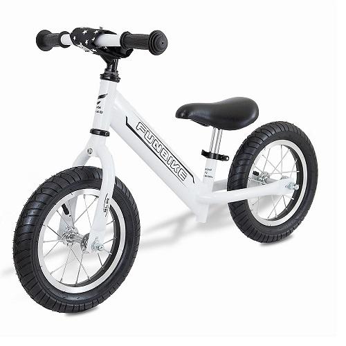 【台灣 ilovekids】<br>FUNbike滑步車-騎士白