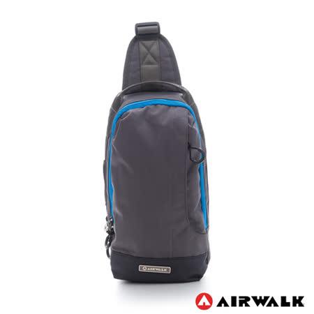 AIRWALK - 灰色地帶 走跳系列多功能腰包 - 自由灰