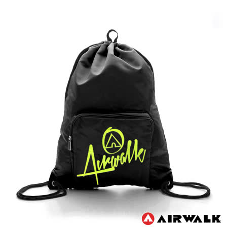 AIRWALK - 第二代束口袋 - 黑