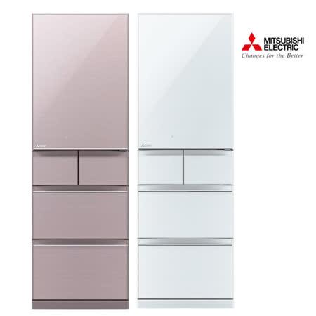 送曬衣架★Mitsubishi三菱455L日本原裝變頻五門電冰箱MR-B46Z