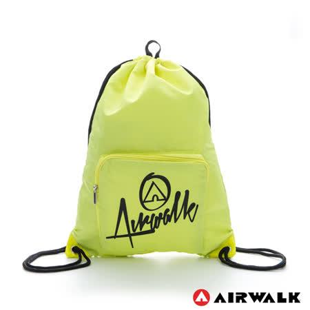 AIRWALK - 第二代束口袋 - 黃