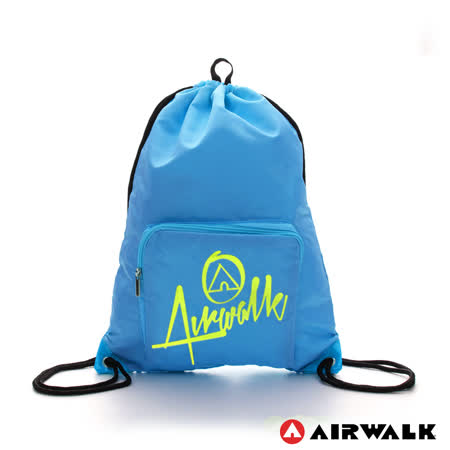 AIRWALK - 第二代束口袋 - 淺藍