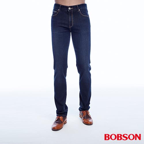 BOBSON  男款低腰高彈力直筒褲 ^(1816~53^)