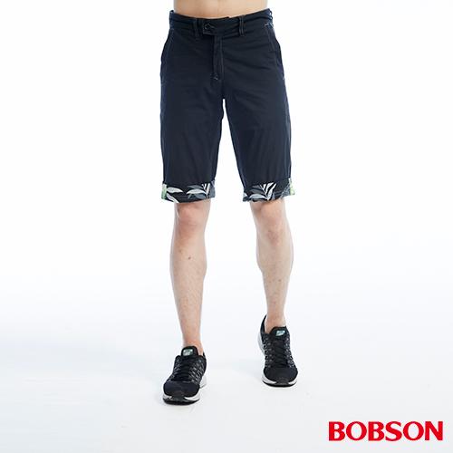 BOBSON  男款雙面穿短褲^(233~87^)