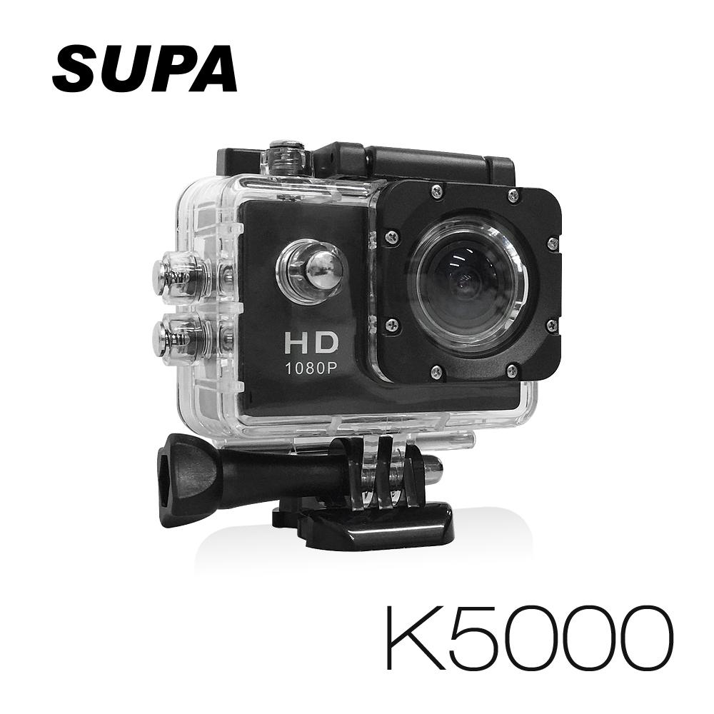 速霸 行車紀錄器固定架K5000 Full HD 1080P 極限運動防水型 行車記錄器(送16G TF卡)