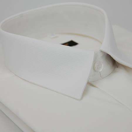 【金安德森】白色直條紋長袖襯衫