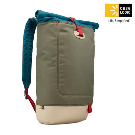 美國Case Logic Larimer多功能捲蓋式14吋筆電雙肩後背包 LARI-114綠色