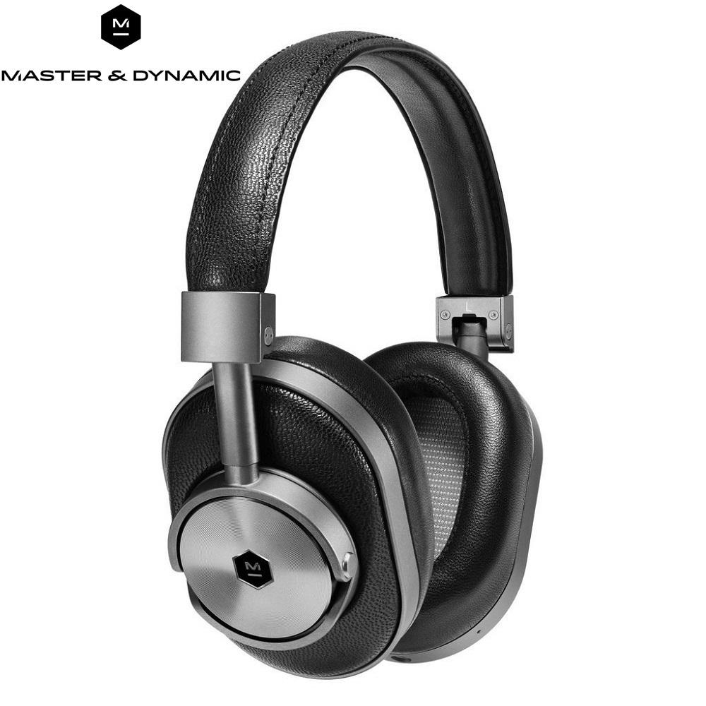 Master Dynamic 高階藍芽無線耳罩式耳機MW60G1 黑鐵灰  送手機藍芽搖控