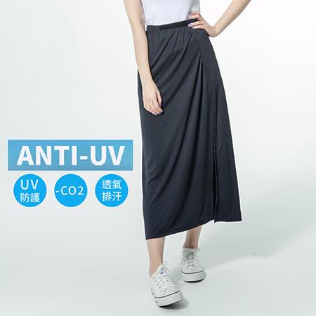 蒂巴蕾   向陽日好。Anti-UV  Good Days   一片式防曬裙 - 黑