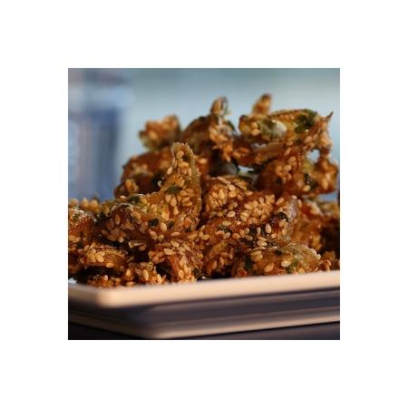 漁品軒-青蔥梅魚酥(每包120公克)