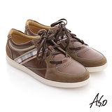 【Comphy】羽量抗菌 直套耐磨止滑休閒鞋(卡其)