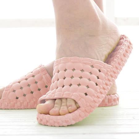 韓版超柔浴室瀝水防滑拖鞋 (女款)- 淡粉