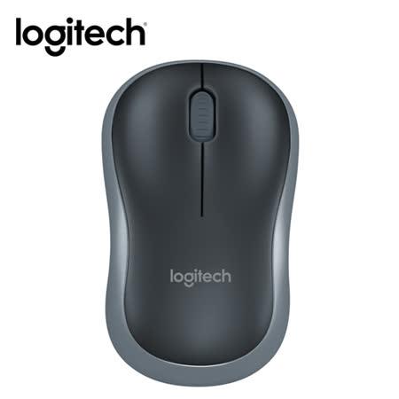 羅技 Logitech M186 無線滑鼠-灰