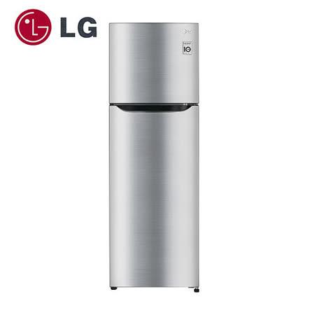 促銷★LG 樂金 Smart 變頻上下門冰箱 (GN-L392SV )  精緻銀 / 315公升含基本安裝