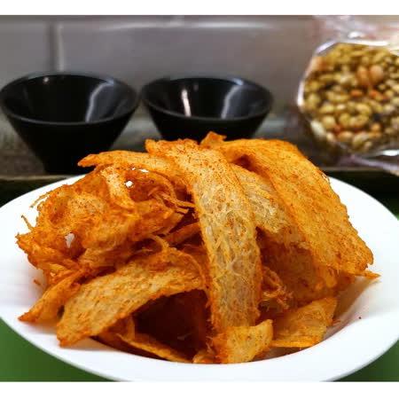 漁品軒-辣味蜜汁魷魚片(每包120公克)
