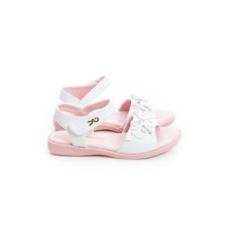 (手工鞋)Roberta諾貝達 舒適減壓防滑公主涼鞋 133-白