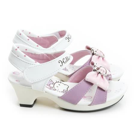 Hello Kitty 海洋風氣質輕量小公主低跟涼鞋 815753-紫